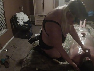 Face Sitting Bondage Part 2 video: Wrapped up and in trouble. Part 2