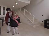 Virtual Reality Japanese Sex: Mitsuki Arms Tied Blowjob