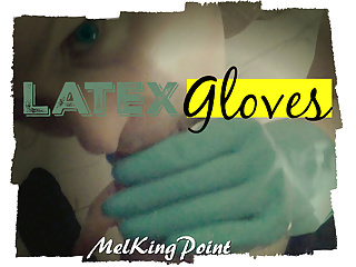 German Blondes Latex video: Latex Gloves (remastered)