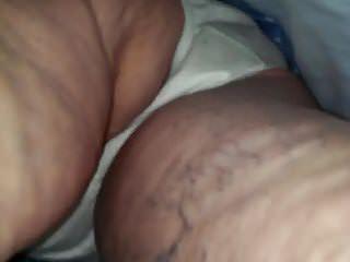 Grannies Upskirts video: Skinny White Granny upskirt