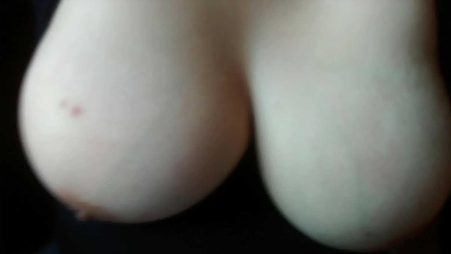 Close up of her tits as I fuck her