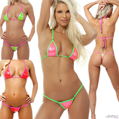 Sexy micro sheer bikini