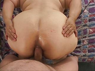 Matures Bbw Grannies video: Big Butt Mexican Granny Gets Butt Fucked BBW GILF