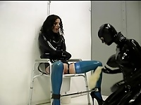 rubber stockings strap-on