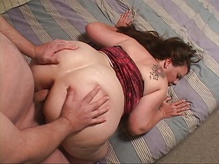 Mature Big Butt Housewife Gets Butt Fucked