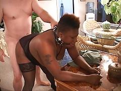 Big Tit Mature Ebony Anal Abuse