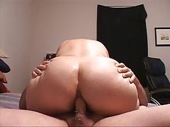 Huge Tit Big Butt Mature Housewife Gets Butt Fucked