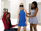 Lesbian Action with Aaliyah Love, Mya Mays and Yara Skye