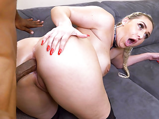 BBC Anal With Big Ass Nina Kayy