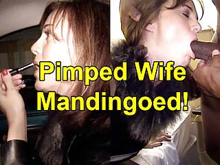 Milfs Amateur porno: Pimped Wife Mandingoed!