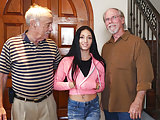 Crystal Rae Painfully Fucked By Grandpa