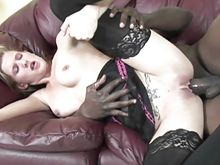 Streaming movie - Cute coed Aspen Blue gets pounded with a big black cock