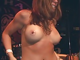 SEXY COEDS EATING PUSSY ON STAGE