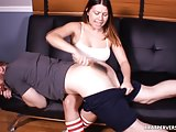 Spanking the Panty Perv