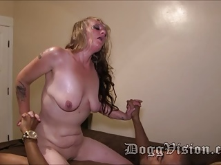 .Blonde 45y Rimjob MILF Climax Many Times.