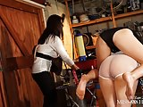 Miss Hybrid Spanks Honesty Calliaro & Masie Dee