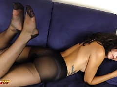 Perfect Ass And Feet in Pantyhose