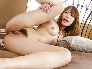 Group Sex Asian Japanese video: Ayaka Fujikita fucked by two hunks in dirty trio