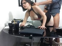 hot tits in office