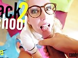 Candy May - School girl get fucked hard by huge BBC