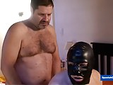 Hung Alpha Bear Fucking his sub