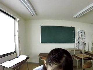 Jap teacher wants to teach you more than just a lesson