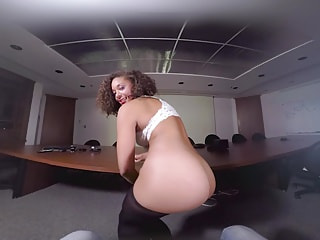 Hot office bitch imagines your stapler in her damp drawer