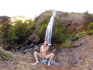 Horny Hiker Caliope Cums Hard