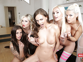Bunch of chicks wants to stick your lady boner in their velvety holes