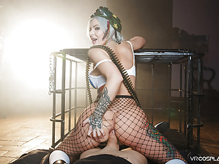 Tank Girl A XXX Parody - Busty Slut Cosplay Anal