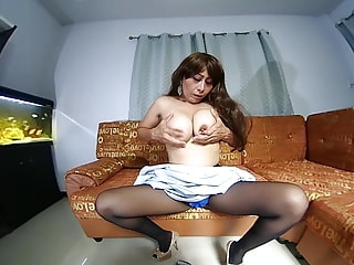 Listen To The Sound Of My Wet Pussy While I Masturbate - Thick Asian MILF
