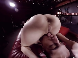 Sweet And Sexy - Girl in Glasses Giving Blowjob