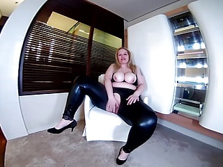 STELLA - horny ass in latex ...