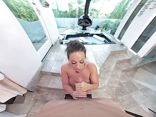 VRHUSH POV sex with Abigail Mac in VR
