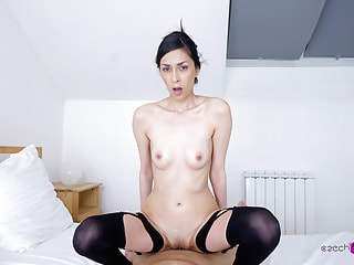 Czech VR Casting 117 - Slim girl in VR Casting