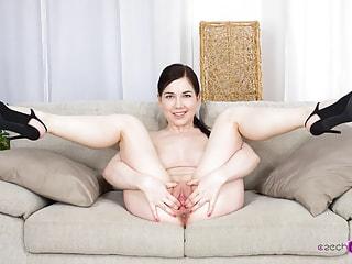 Puffy Nipples Look Yummy on a Busty Czech Girl